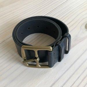 J.Crew S Italian Leather Belt (26.5-36.5in.)